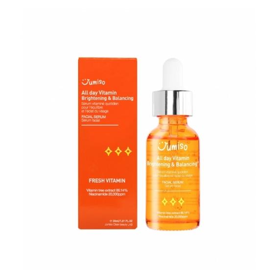 JUMISO all day vitamin brightening and balancing facial szérum